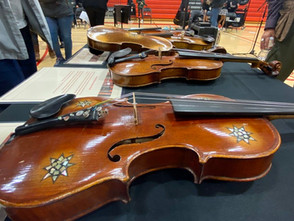 Holocaust-era violins visit S.F. Catholic School