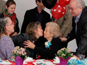 Holocaust survivor adds to legacy at early 100th birthday in S.F.