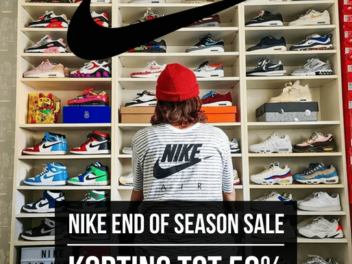 Nike End of Season Sale - Korting tot wel 50%