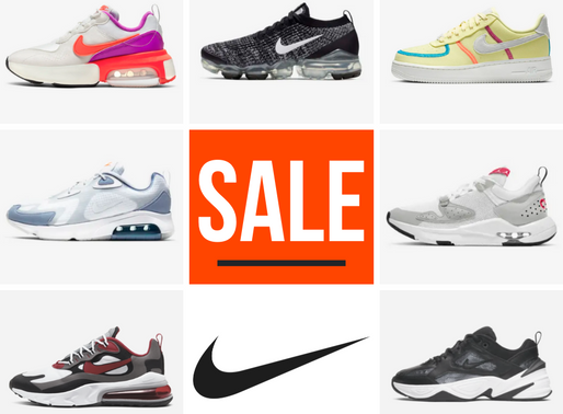 "Laatste maatjes pakken in de Nike ""End of Season Sale"""