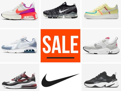 """Laatste maatjes pakken in de Nike """"End of Season Sale"""""""