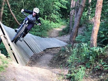Bikepark De Wijchense Berg; Perfect om downhill technieken te oefenen