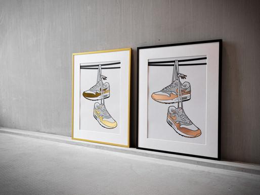 Hyprints lanceert een nieuwe gouden Air Max 1 print 'Urban Legend'