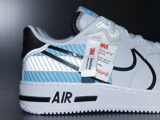 Sneakerplaats review - Nike Air Force 1 React LX
