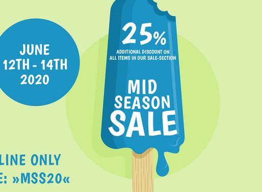 25% extra korting op alle SALE producten bij 43einhalb!
