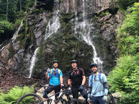 Mountainbiken in Harz in Duitsland