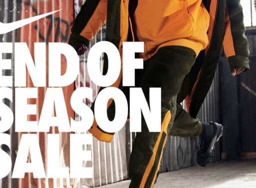 "Nike ""End of Season Sale"" - Korting tot 50%!"