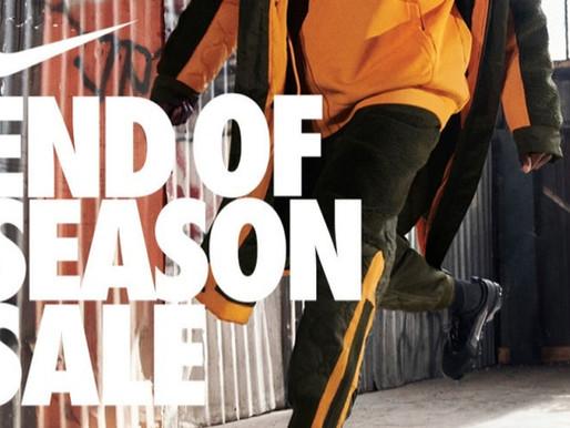 """Nike """"End of Season Sale"""" - Korting tot 50%!"""