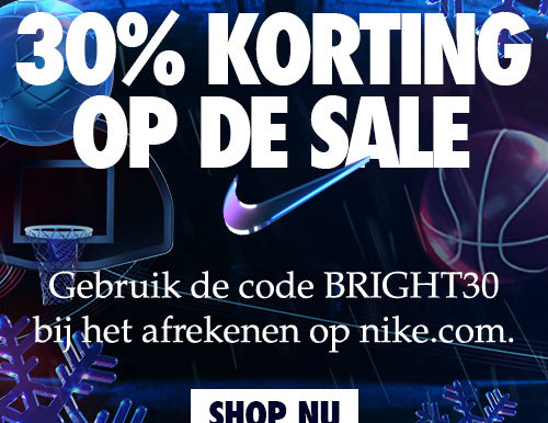 Black Friday bij Nike - 30% korting op de gehele SALE!