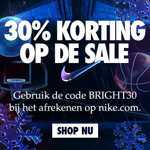 Nike Black Friday Deal - 30% korting op alles in de SALE!