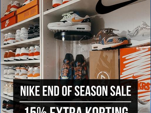 LAATSTE KANS om te profiteren van 15% EXTRA KORTING!