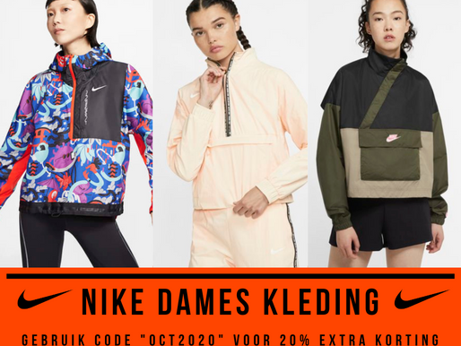 "De dikste DAMES kleding van Nike uit de ""End of Season Sale"""