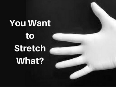 Stretch and Sweep..... What You Need to Know!!