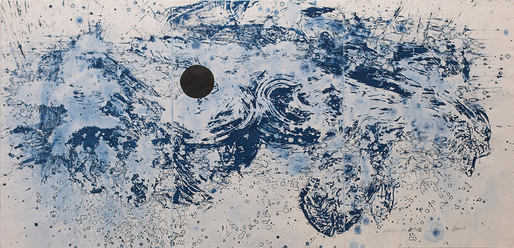 Golpe de mar 1. 228 x 112 cm