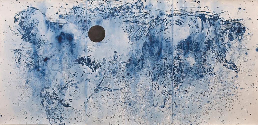 Golpe de mar 2. 228 x 112 cm