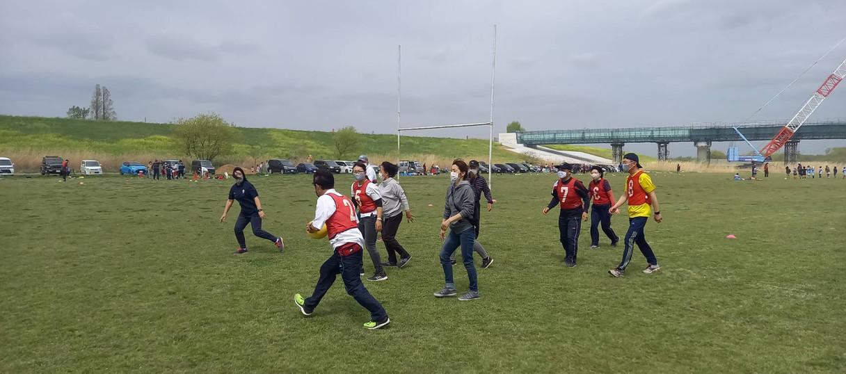 4月4日 Walkingラグビー体験会