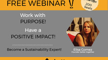 FREE WEBINAR! Find Purpose & Have a Positive Impact!