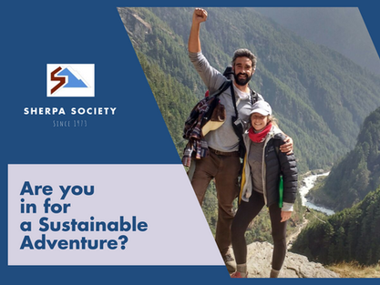 Sherpa Society, Sustainability Hero Change Agents!