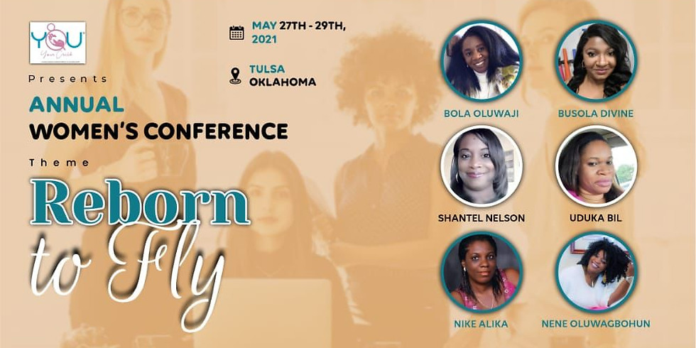 [Postponed!] 2021 YYC Annual Women's Conference - Reborn To Fly