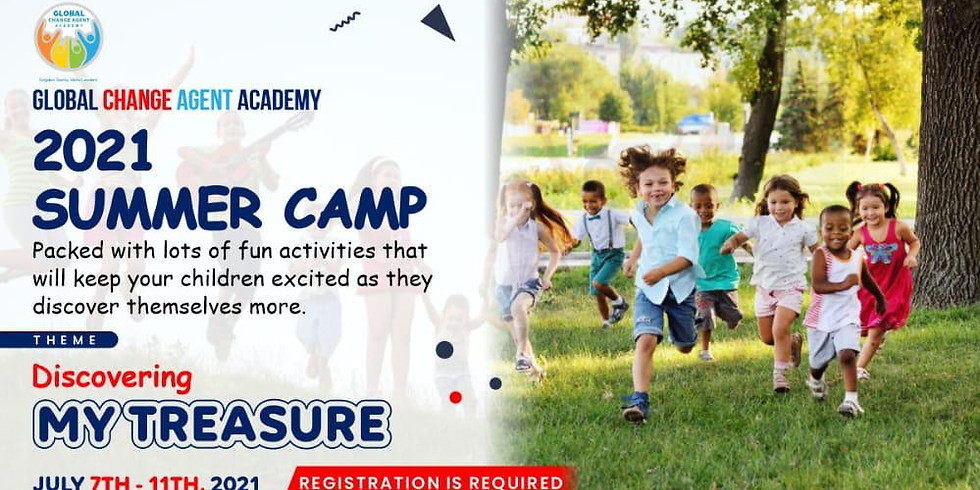 Global Change Agent Academy 2021 Summer Camp