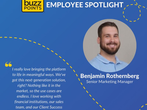 Ben Rothenberg Celebrates 8 Years with Buzz Points