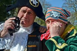 Brave, brave pirates