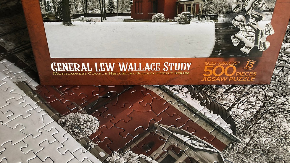 2019 Fundraiser: Lew Wallace Study 500 Piece Puzzle