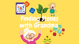 Finding stones with Grandma