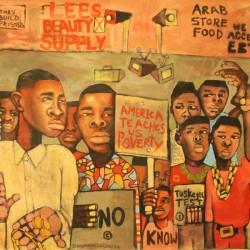 #Biko70 Lumumba Blacker than Space by Marcellous Lovelace - FEB 15TH - MARCH 20TH 2016 - DITTMAR GAL
