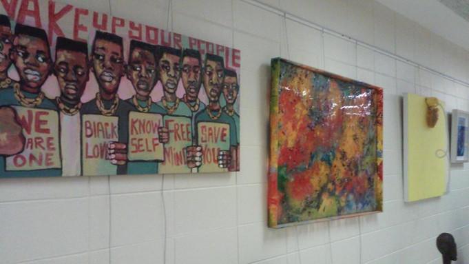 Africa International House | Marcellous Lovelace Art Featured