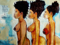 2016 Breaking Free From Colonial Association art by Marcellous Lovelace