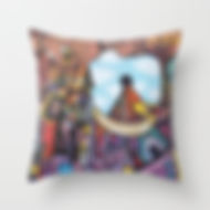 "THROW PILLOW / INDOOR COVER (16"" X 16"")"
