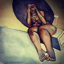 2015 Protect Her Solar From the Lies they Tell art by Marcellous Lovelace