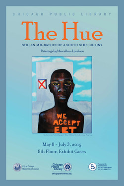 2015 THEHUE ART SHOW POSTER