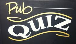 Quiz night. Last Sunday of the month