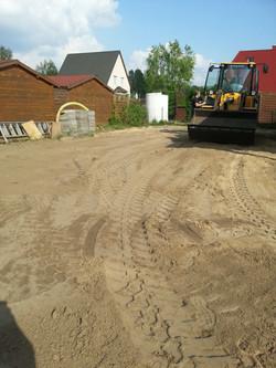 Grundstück begradigen Erdbau Schmitt