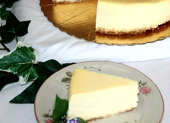 Traditional New York Cheesecake Slice