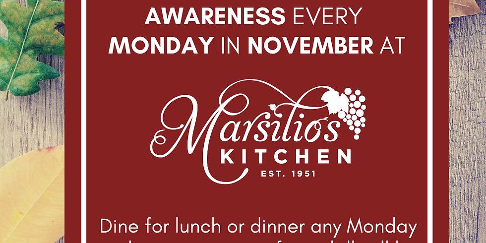 Meaningful Mondays at Marsilio's Kitchen