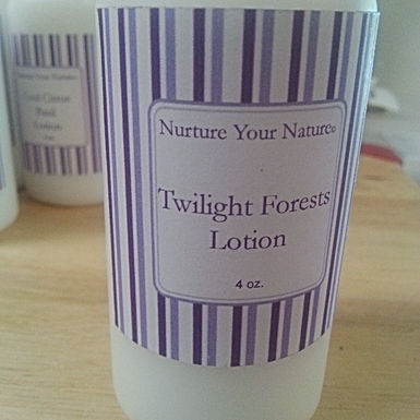Twilight Forests Lotion, Our Manly Mans Lotion
