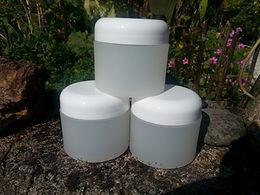 Containers 4 oz. round plastic