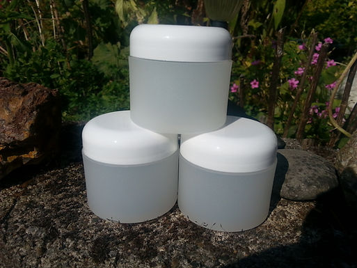 Containers 4 oz. round plastic