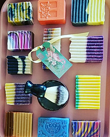 Soapy Soaps with favorite fragrances suc