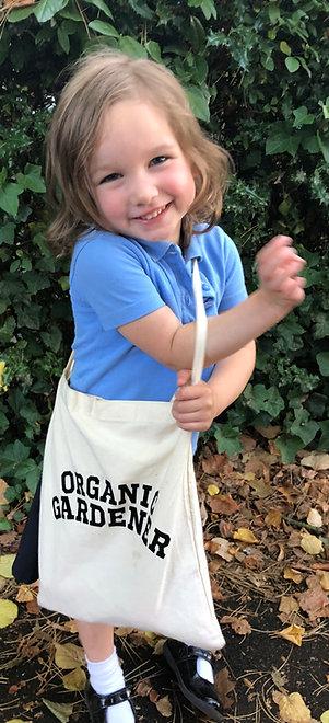 Organic Gardening Tote