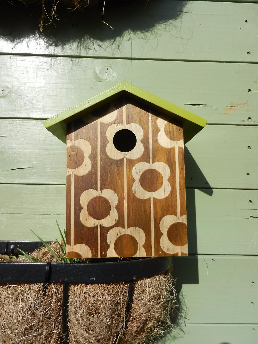 Orla Kiely Wooden Birdhouse