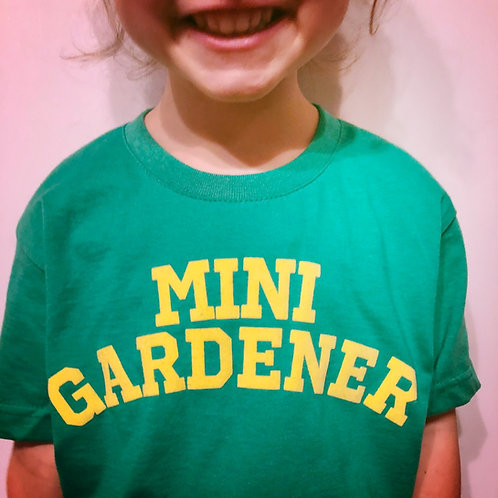 Mini Gardener Tee