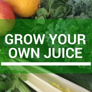 Grow Your Own Juice