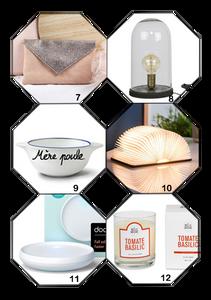 6 idées cadeaux déco pour la maison et accessoires de mode à offrir à l'occasion de la fête des mères
