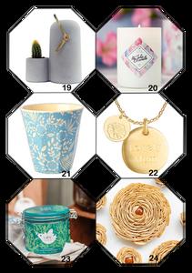 6 idées cadeaux déco-design et gourmandises pour la fête des mères