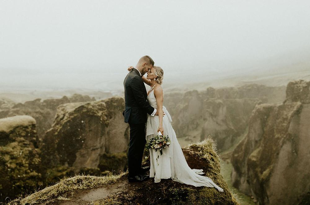 Elopement : un mariage loin de tout au sommet des montagnes