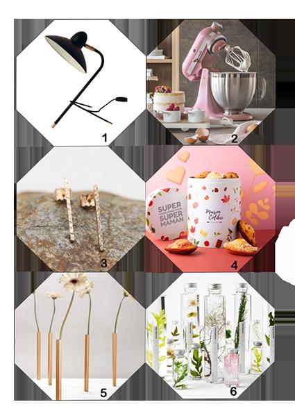 6 idées cadeaux déco et gourmandes à offrir ou se faire offrir pour la fête des mères